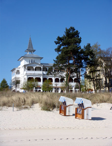 Ferienwohnung binz auf r gen villa seeblick im ostseebad binz for Villa seeblick binz