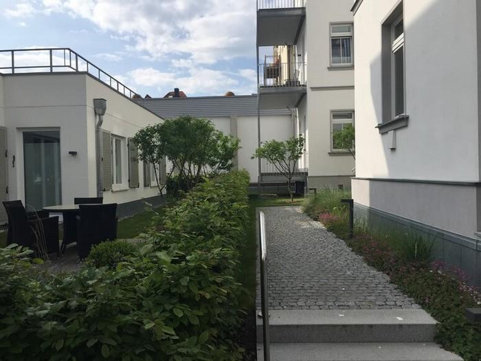 Eingangsbereich Starndhaus Seeblick
