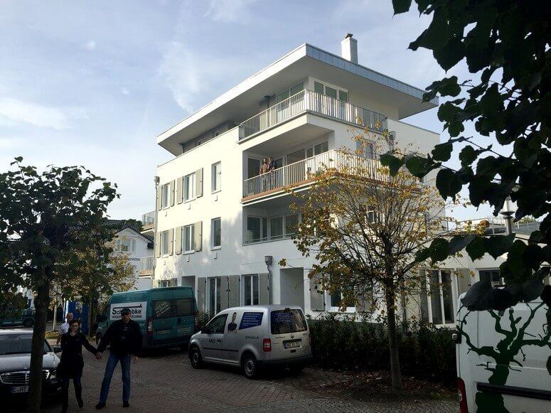 Strandhaus Seeblick Binz Ansicht