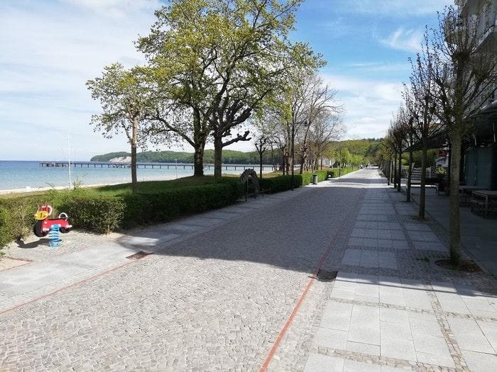 Promenade in Binz